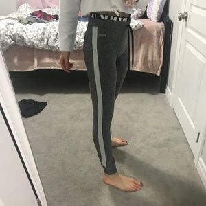 PINK grey ultimate joggers